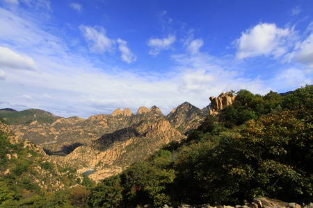 scenic spots: Mountain natural scenery