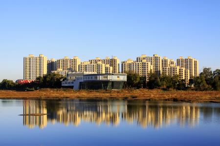 Urban landscape in China