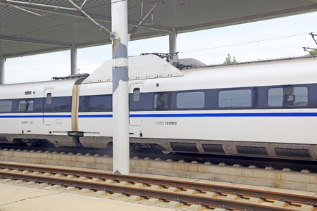High speed train and rail Editorial