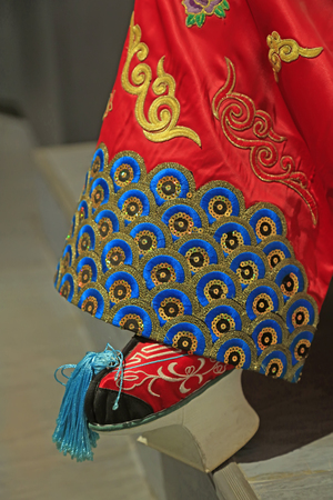Peking Opera props embroidered shoes
