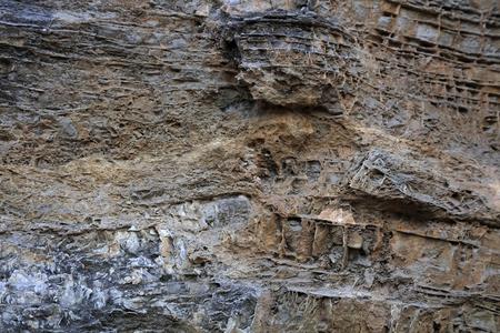 Close up view of grey rock texture Stok Fotoğraf
