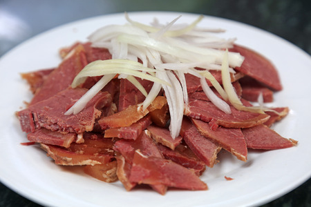 Chinese style Cooked meat