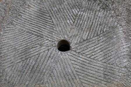 Chinese rock millstone