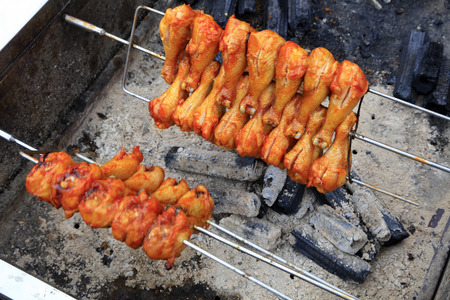 Chinese style grilled chicken