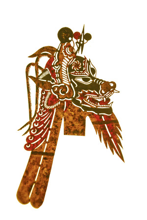 Chinese shadow puppets prop