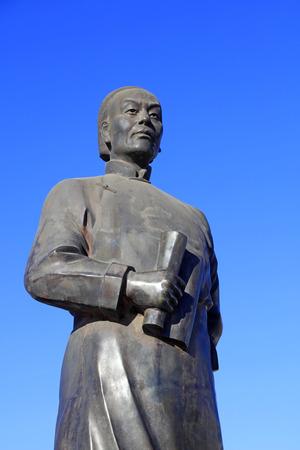 Peking Opera founder Cheng Zhaocai sculpture, Chinese