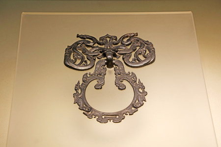 Silver Door Rings in Ancient China, Precious Historical Relics