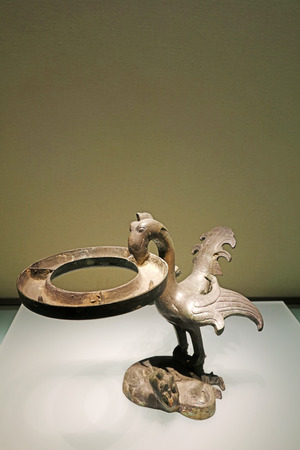 Ancient Chinese bronze utensils, unearthed cultural relics Editorial