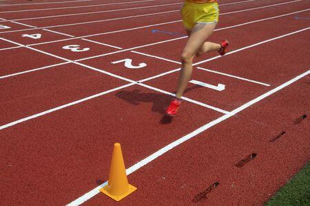 legs of a long distance runner