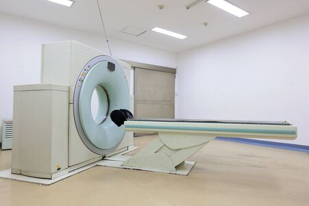 CT (Computed tomography) scanner in hospital laboratory