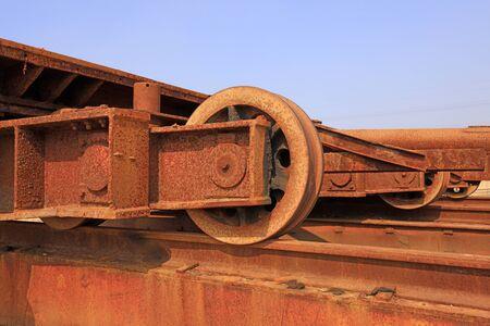 Oxidized metal parts