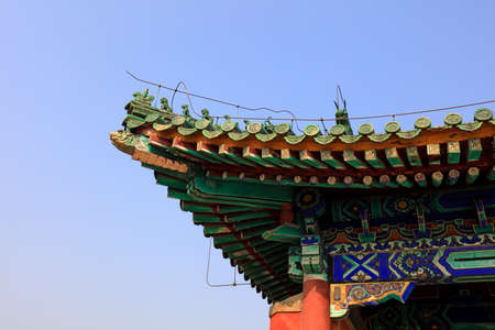 Architectural landscape of Chinese classical temples