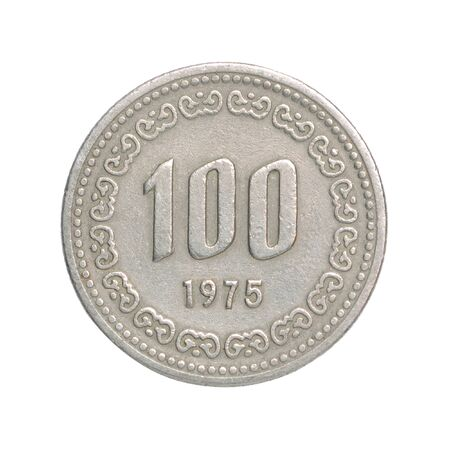 korean wons coin