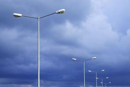 streetlights: lamp
