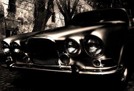 thriller: horror car Stock Photo
