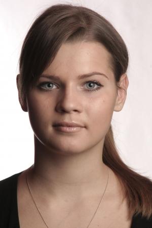 Portrait junge Frau Zdjęcie Seryjne