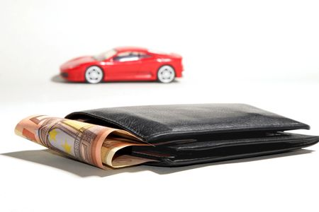 car and money Stock Photo - 2886028