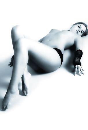 s Modell Mia Milano Stock Photo