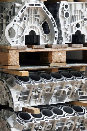 Automobile Industry Stock Photo