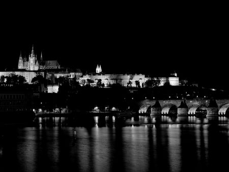 prague at night - mamiya rz67
