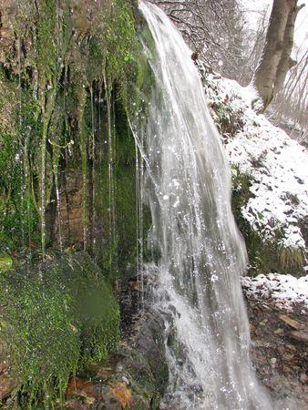 ice waterfall Stock Photo - 1305922