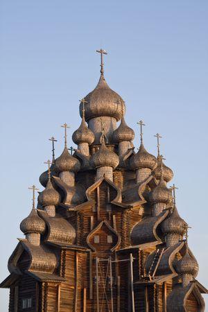 � Church of Transfiguration on Kizhi Island Stock Photo