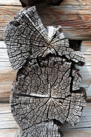 an old wooden frame covered with cracks