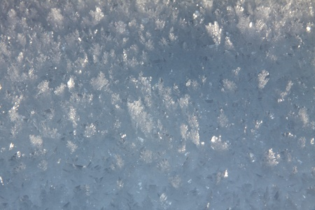 surface of the drift from the set of snowflakes