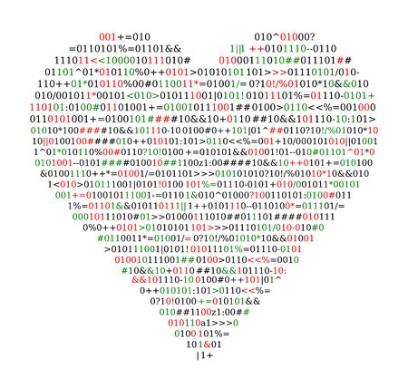Code source, forme de coeur, protection de concept