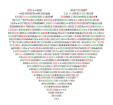 Codice sorgente, forma del cuore, protezione del concetto