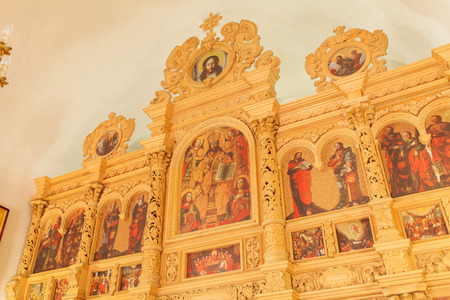 iconostasis: The iconostasis of the Orthodox Church in Ukraine