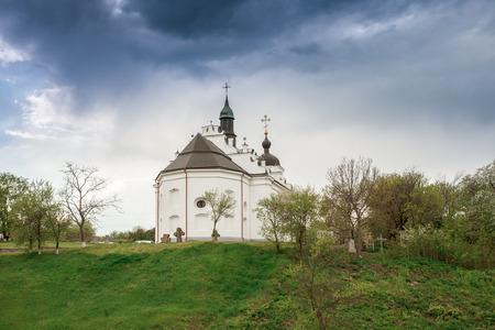 built tower: Subotiv residence of Hetman Bohdan Khmelnytsky Ukraine