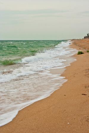 deserted: deserted beach