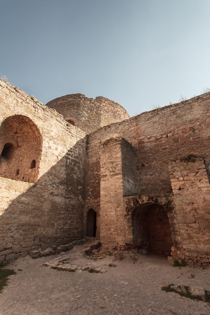 17th: an ancient fortress of the 17-18th century Stock Photo