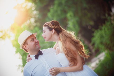 trash the dress: wedding at sunset groom and bride