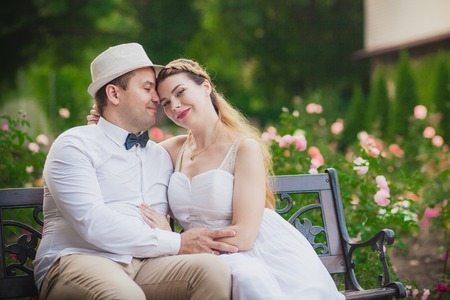 wedding couple: Love wedding couple groom and bride