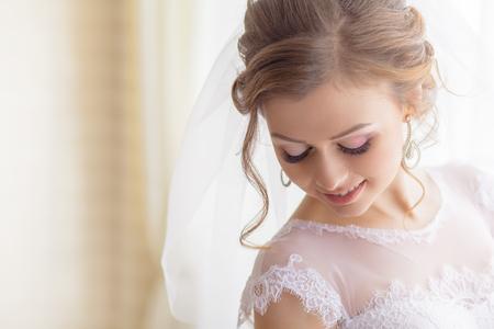 bruids make-up huwelijksceremonie bruidegom
