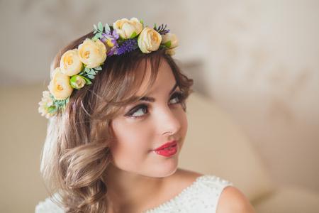shine: white bride shine floral wedding