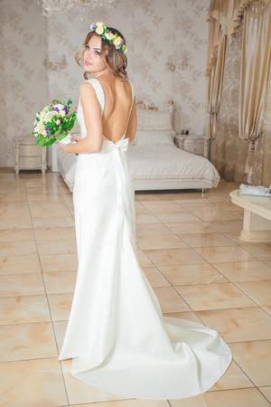 spin: bride spin dress white fashion