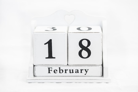 18 month old: calendar february date winter wood