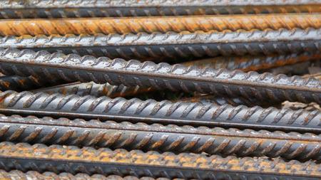 rhodium: Steel rod background