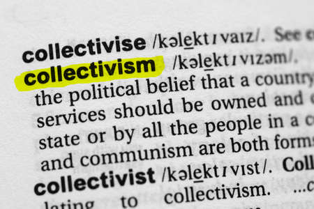 Highlighted word collectivism concept and meaning
