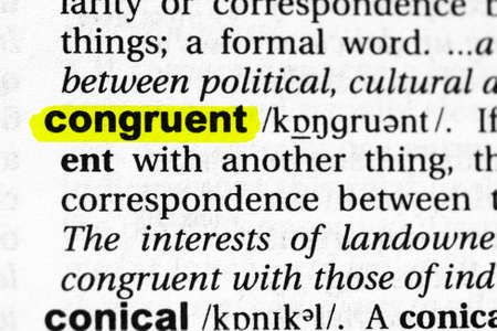 Highlighted word congruent concept and meaning