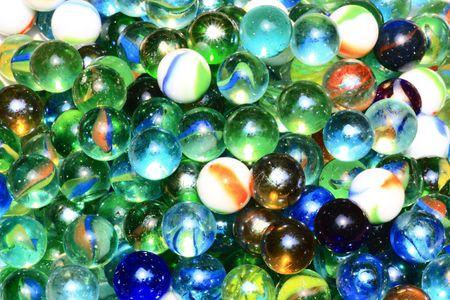 earthlike: colorful, earth-like marble.