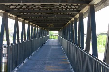 flyover: viaduct Stockfoto