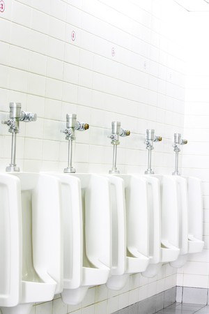 urinal man clean toilets Stock Photo - 7977410