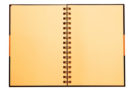Face notebook for background and text Stock Photo - 8064400