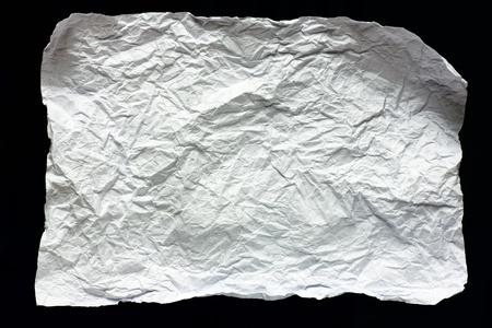 crumpled paper texture: Crumpled Paper Texture  Stock Photo