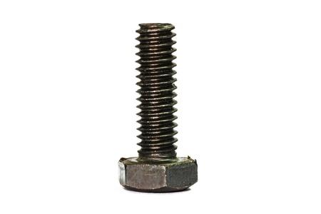 screws on white background  Reklamní fotografie