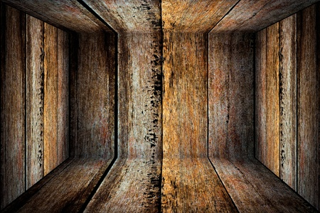 scroll up: wood wall texture with natural patterns Stock Photo